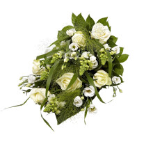 Funeral spray Florist's Choice